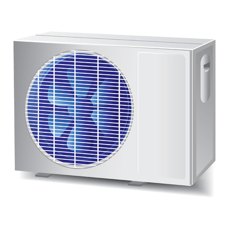 compressore: air conditioner outdoor unit 34 view