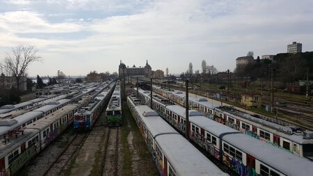 estacion de tren: la estaci?e tren