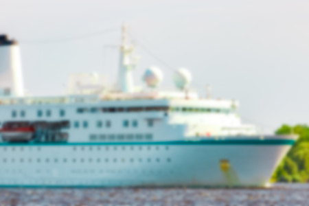 Cruise liner - soft lens bokeh image. Defocused background Stock fotó - 101925816