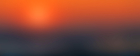 Abstract orange yellow sunset soft blurred background. Canvas for any project