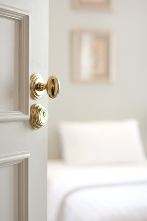 opening door: Door - The door handle of luxury