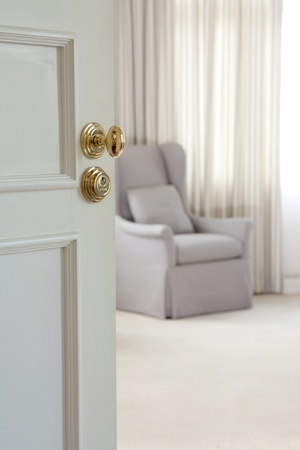 Door - The door handle of luxury photo