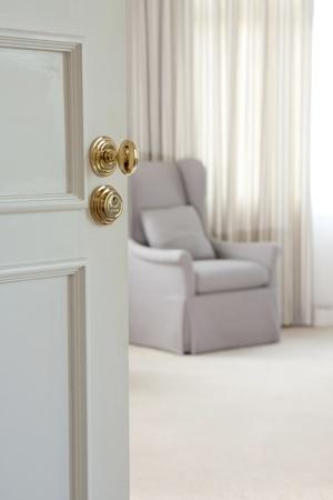 Door - Der Türgriff von Luxus Standard-Bild