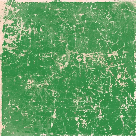 Green vintage grunge paper texture, background