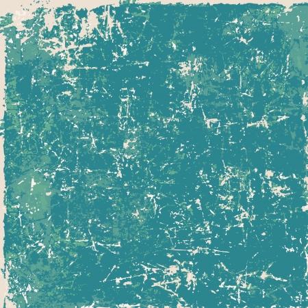 Blue vintage grunge texture, background