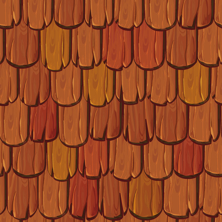 Old wood roof tiles texture