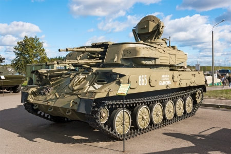 Self-propelled anti-aircraft weapon system  Shilka