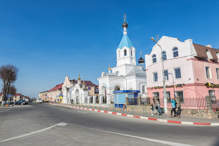 nicholas: Pastavy Saint Nicholas church..March 20,  2014 year.