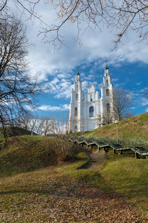 The Cathedral of Holy Wisdom. Spring of 2017. Polotsk, Vitebsk region. Belarus.