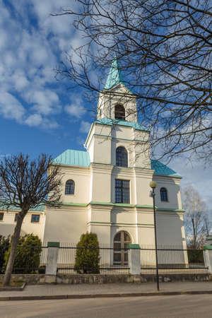 Kathedrale von Saint Andrew Bobola. Navapolatsk, Region Witebsk.