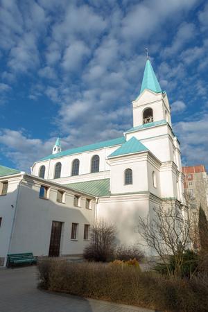 Cathedral of Saint Andrew Bobola. Navapolatsk, Vitebsk region.