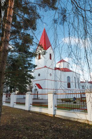 Catholic church of the Sacred Heart of Jesus Christ. Navapolatsk, Vitebsk region.
