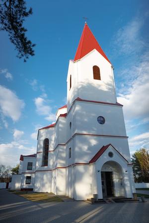 Katholische Kirche des Heiligen Herzens Jesu Christi. Navapolatsk, Witebsk Region.