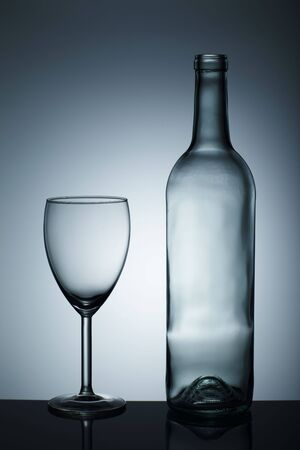 Empty wine glass isolated over background Stock Photo - 6721723
