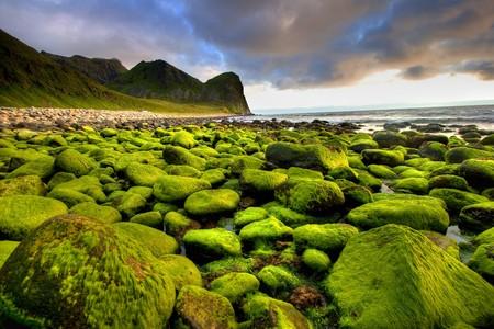 Bello paisaje de Noruega.