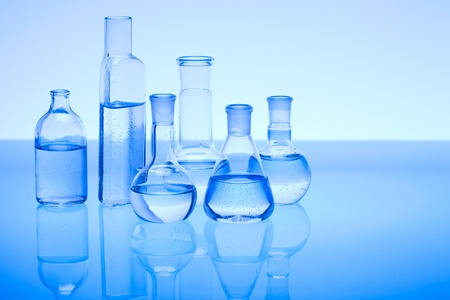 laboratory glass: Laboratorio di vetro