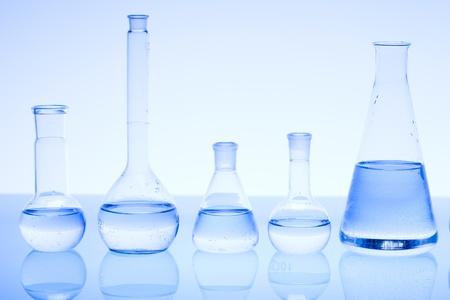 Laboratory glass Standard-Bild
