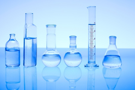 Laboratory glass Stock Photo - 8551591