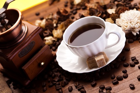 Aroma Kaffee Standard-Bild - 8588872
