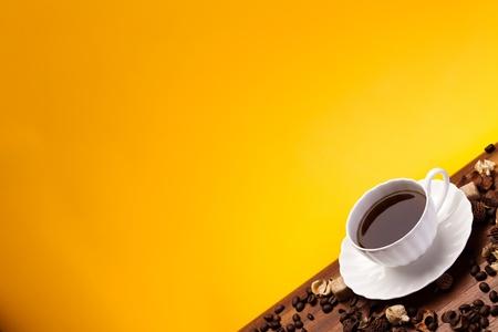 cafe colombiano: Aroma Caf� Foto de archivo