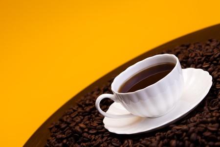 Aroma Kaffee Standard-Bild - 8588773