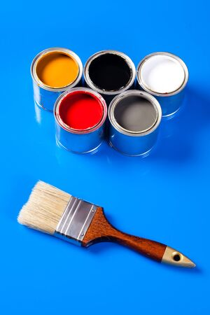 cans of paint Stock Photo - 8921735