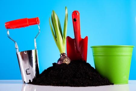 Gartenarbeit Standard-Bild - 9026501
