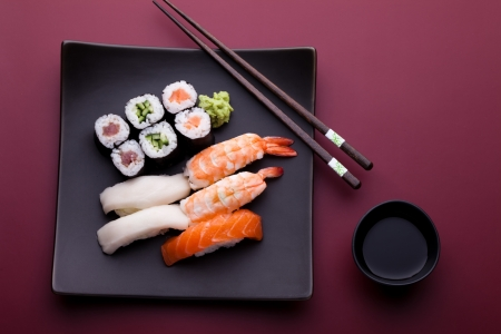 china cuisine: Sushi
