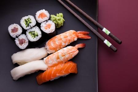 japanese meal: Sushi