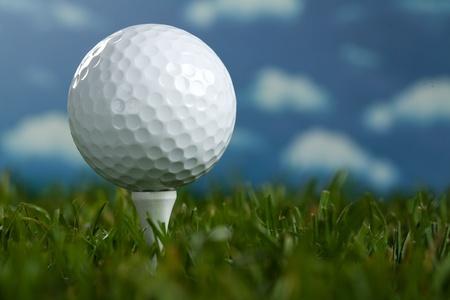 Golf Standard-Bild - 9174739