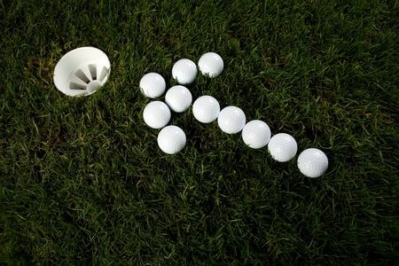 Golf Standard-Bild - 9173588