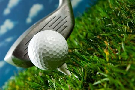 Golf Standard-Bild - 9174681