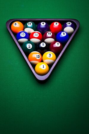 Billiard balls Stock Photo - 9503160