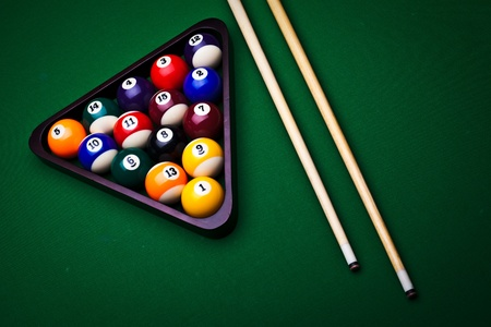 pool ball: Billiard balls