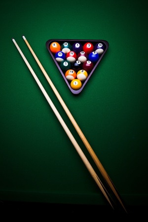 9 ball billiards: Billiard balls