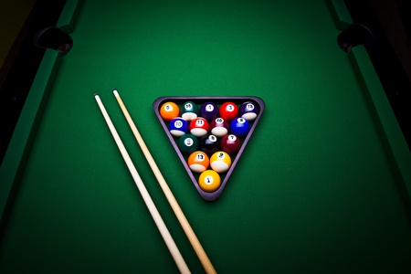 Billiard balls Stock Photo - 9503150