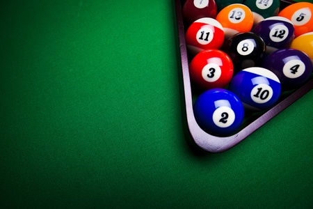 Billiard balls Stock Photo - 9503170