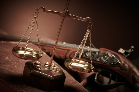 scales thin: Law Stock Photo