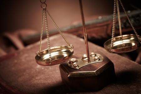 estatua de la justicia: Ley