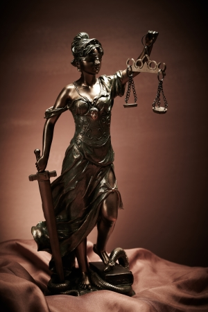 justice statue: Law Stock Photo