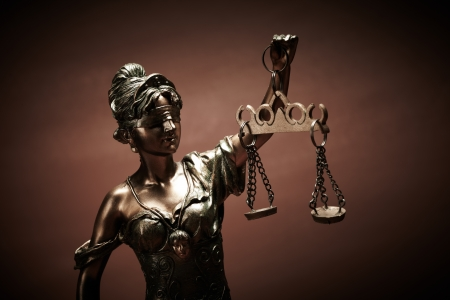 blind justice: Law Stock Photo