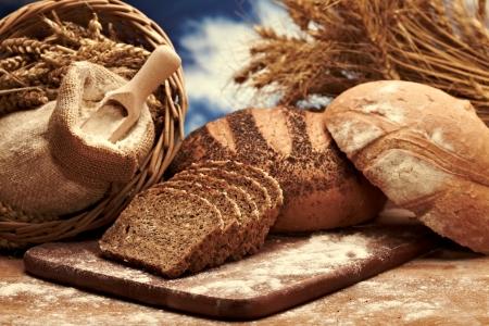 bakery bread: Traditional bread