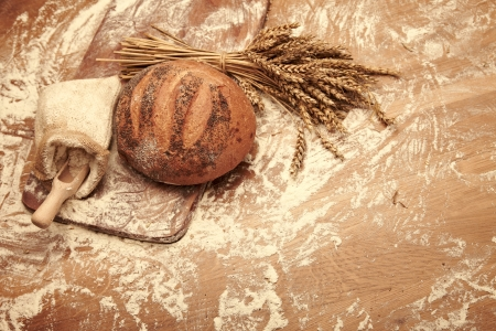 homemade bread: Traditional bread