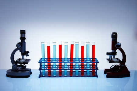 clinical research: Laboratory glass Stock Photo