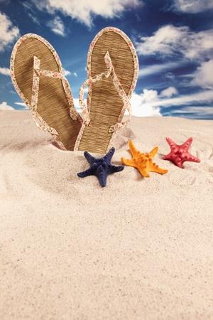 Holiday, summer, beach  photo