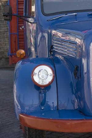 americana: A blue Antique Truck