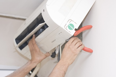 air conditioner: air condition Stock Photo