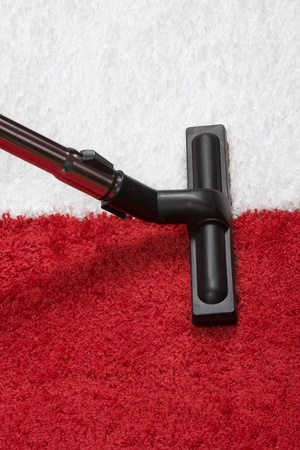Tube cleaner on the carpet Stock Photo - 11991488