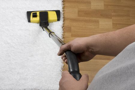 carpet cleaning Stock Photo - 12149602