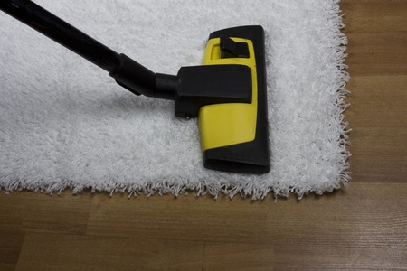 saprophyte: carpet cleaning Stock Photo